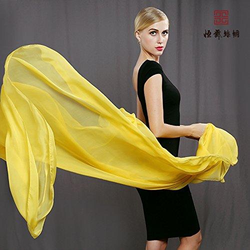 RENYZ.ZKHN High Grade Silk Scarf, Silk Long Scarf, Silk Long Shawl, Super Large Scarf Shawl, High Grade Silk Scarf Gift 200  130Cm