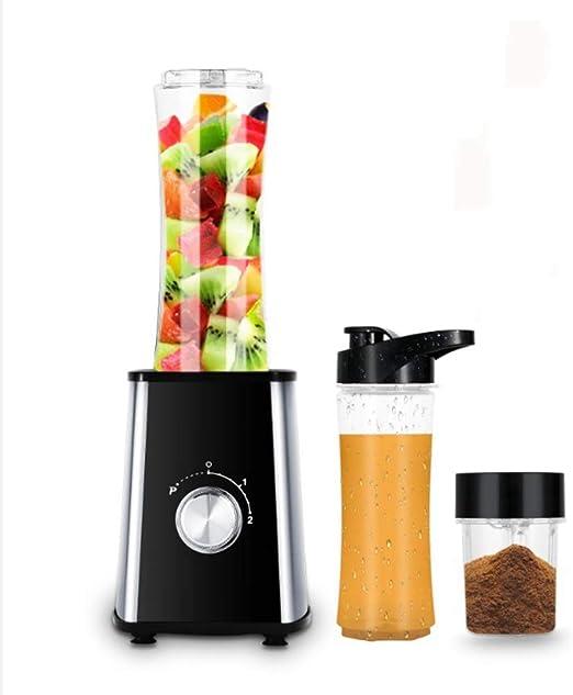 FGHTL Licuadora 600ML Exprimidor Frutas Acero Inoxidable 4 ...