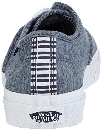 VansW CAMDEN STRIPE - zapatillas mujer Azul - Blue ((stripes) Navy