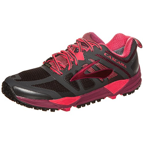 Cascadia 11 Brooks para anthrazit Correr para Mujer rot GTX Zapatos HdwqSw
