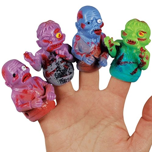 (Loftus International Assorted Zombie Halloween 4pc 2.5