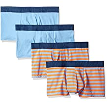 Fruit of the Loom Men's Cotton Stretch Boxer Brief Low Rise Trunk (Pack of 4)-Dup
