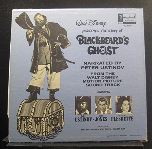 Peter Ustinov And Dean Jones And Suzanna Pleshette - Walt Disney Presents The Story Of Blackbeard's Ghost - Lp Vinyl Record