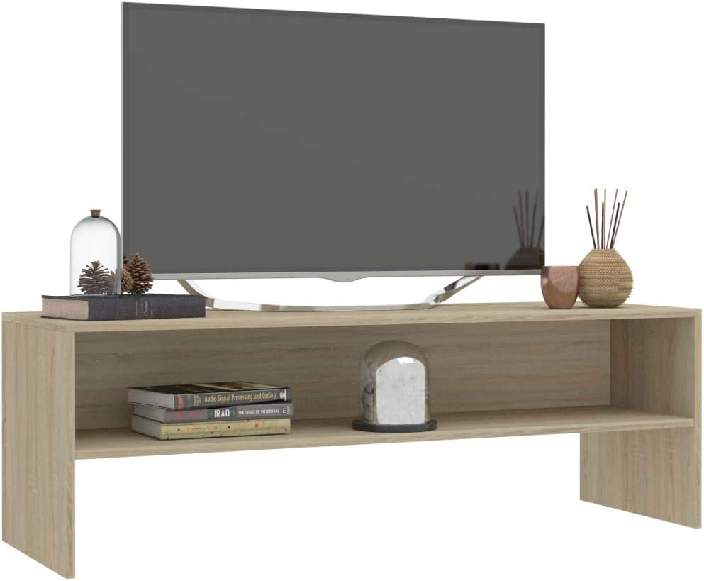 Spanplatte L x B x H Tidyard TV-Standf/ü/ße TV St/änder Fernsehschrank Fernsehtisch Fernsehst/änder Mit einem offenen Fach,TV-Schrank TV-Lowboard 120 x 40 x 40 cm