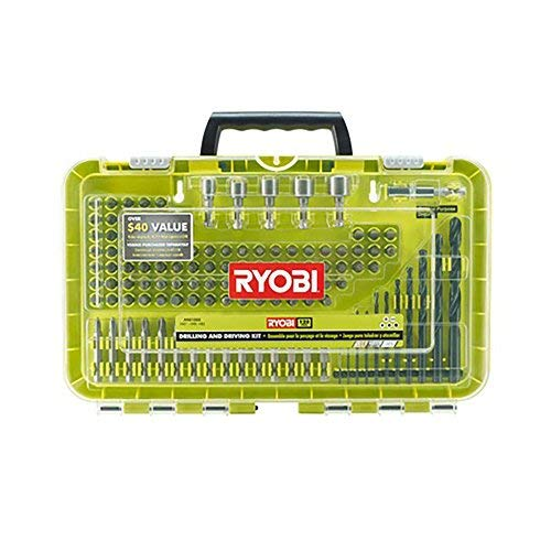 Ryobi Drilling and Driving Kit 120 piece Set A981202 for sale  Delivered anywhere in USA