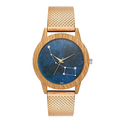 Fashion Women Silica Gel Band Watches,Outsta Analog Quartz Round WristWatch Bracelet Watch for Women Girls Gift Present (Rose Gold)