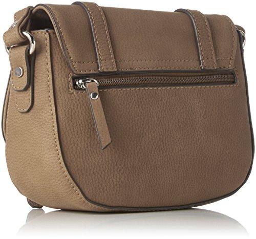 Women's body Beige taupe Cross Lexi Bag Tom Tailor 5wIq5fz