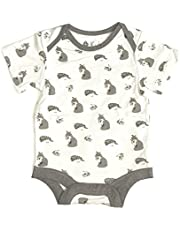 KYTE BABY Bodysuit – Unisex Bodysuits - Short Sleeve Baby Bodysuits Made from Organic Bamboo Rayon Material
