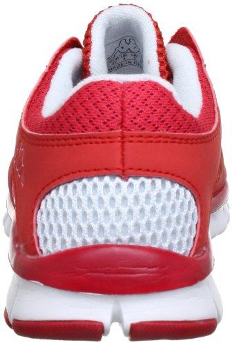 Kappa JIVE 241520 Damen Sneaker Mehrfarbig (2010 RED/WHITE 2010 RED/WHITE)