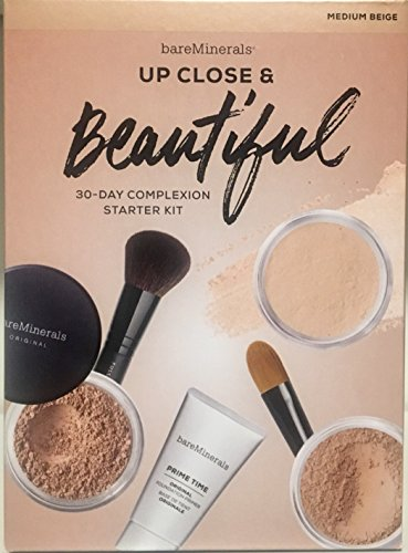 bareMinerals Up Close & Beautiful 30-Day Complexion Starter Kit - Medium (Bareminerals Kit)