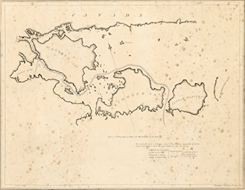 Historic Map | A Collection of maps, Charts, Drawings, surveys, etc, published from time to time, by Order of The Two Houses of Congress : United States | St. Joseph is, Drummond is. 44in x 34in