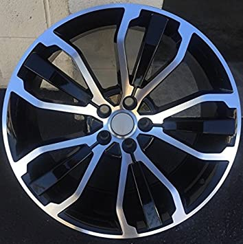 "22 ""ruedas para Range Rover ib-c9mi-tsg7 Oxford ruedas Set HSE"