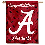 Cheap College Flags and Banners Co. Alabama Crimson Tide Graduation Gift Banner Flag