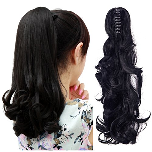 Extension Wig Hairpiece - FUT Womens Claw Ponytail Clip in Hair Extensions 18