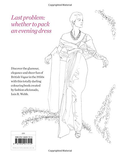 Vogue Colouring Book Iain R Webb 9781840917215 Amazon Books