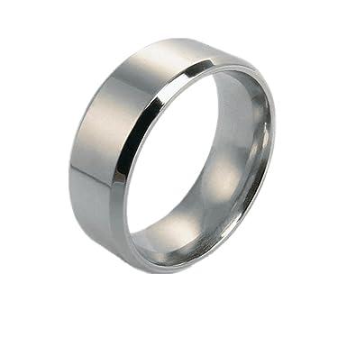 Importe 7 8mm Men Women S Stainless Silver Tone Ring Couple Wedding