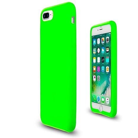 Amazon.com: Neón verde suave de silicona flexible Skin Jelly ...