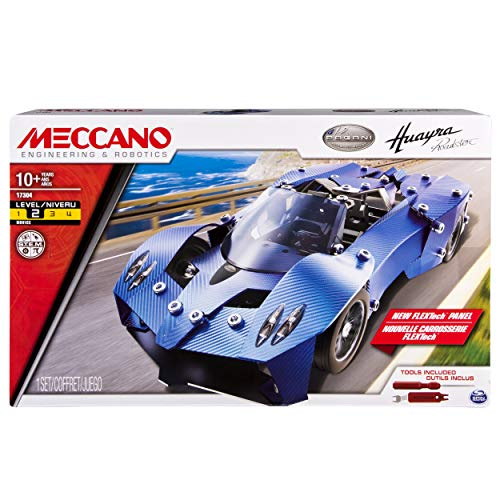Meccano-Erector - Pagani Huayra Roadster Sports Car Building Set
