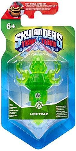 Skylanders Trap Team - Riot Shield Shredder inside a special Life Trap - Rare Exclusive (Rare Life)
