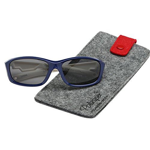 - Polarspex Flexible Kids Toddler Boys Sports Wrap Polarized Sunglasses - BPA Free