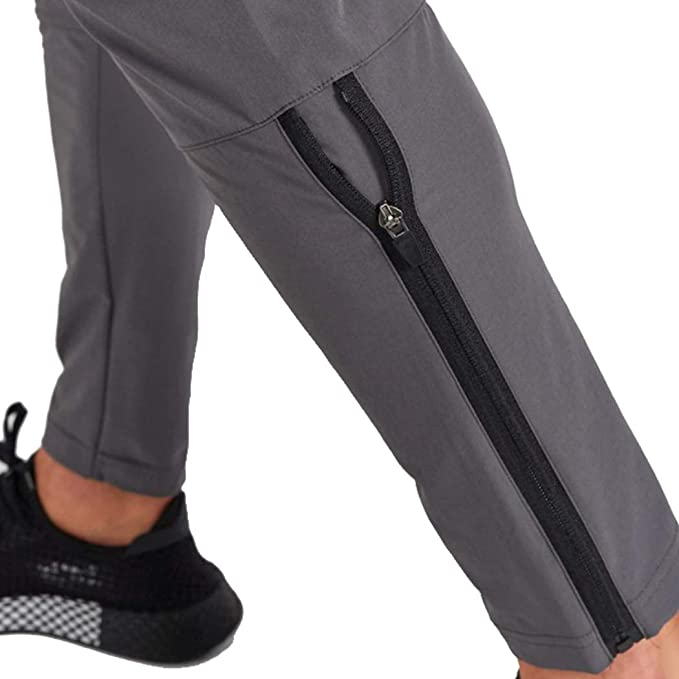 Diliflyer Mens Sweatpants Joggers Gym Track Trail Quick Dry Hiking Pants