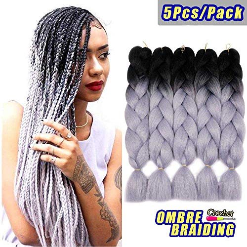 AIDUSA Braiding Synthetic Extensions Crochet
