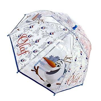 Disney Frozen Olaf niños de cúpula paraguas