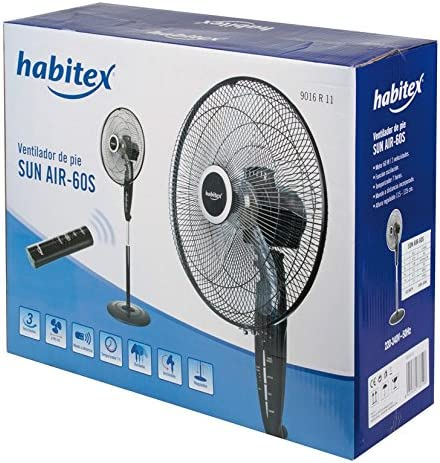 Ventilador de pie SUN AIR-60 S: Amazon.es: Hogar