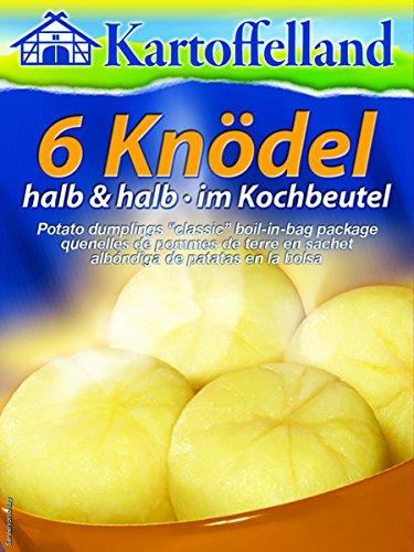 Kartoffelland Dumplings, Halb & Halb, 7.6 Ounce