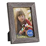 RPJC 4x6 Picture Frames Made of Solid Wood High Definition Glass for Ta Deal (Small Image)