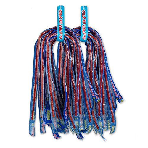 Red Vines Super Ropes Licorice Candy (30 Count Box) ()