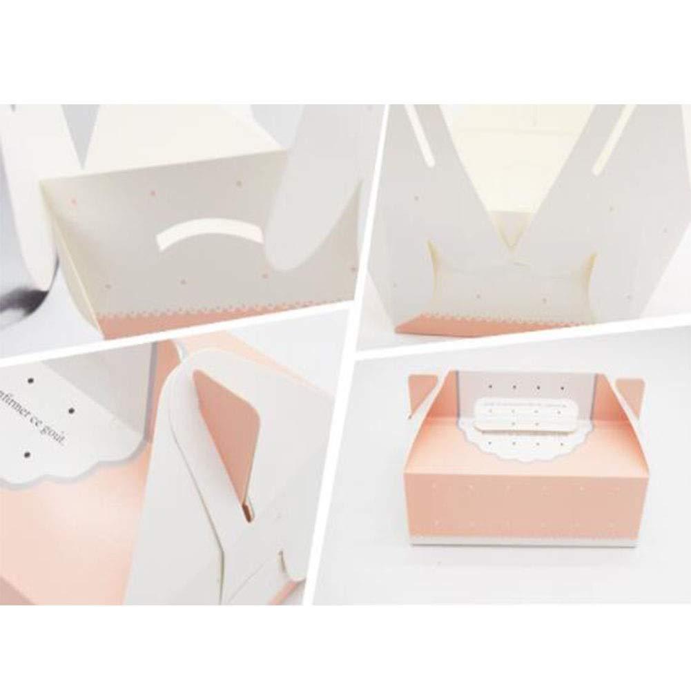 100 Mousse Puff Cake Box, Geschenkbox, Dessert Geschenk Dekoration Dekoration Dekoration Aufbewahrungsbox -20  13  7,5 cm B07QF99WGT | Gemäßigten Kosten  cb7ab0