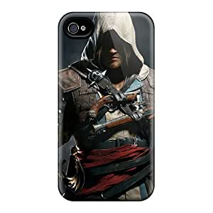 Fashion Protective Assassins Creed 4 Black Flag Case Cover For iPhone 5c
