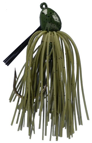 Strike King Bitsy Bug Mini Jig Bait (Watermelon, 0.0625-Ounce), Outdoor Stuffs