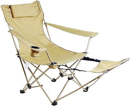 Zcyg Tumbona Tumbona reclinable Silla Plegable Tumbonas ...