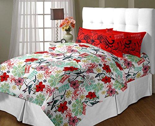 Trident Home Essentials Tweet Queen Bedsheet