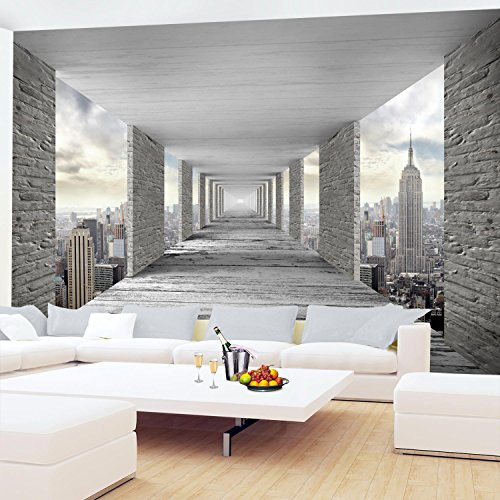 Fototapeten 3D New York 352 x 250 cm Vlies Wand Tapete Wohnzimmer  Schlafzimmer Büro Flur Dekoration Wandbilder XXL Moderne Wanddeko - 100%  MADE IN ...