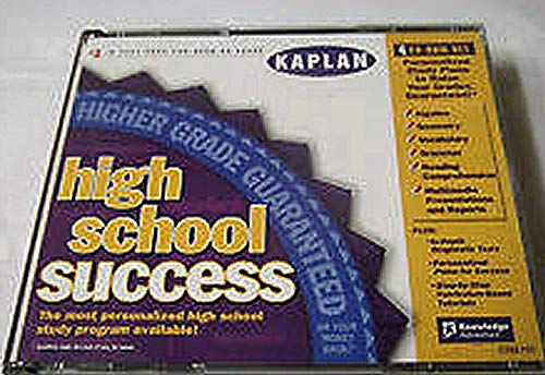 Amazon com: Kaplan High School Success, 4 Cd-rom Set, Win 3 1/95/98