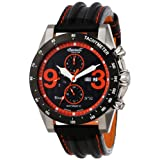 Ingersoll Men's IN1620BKOR Automatic Bison Number 32 Black Orange Watch