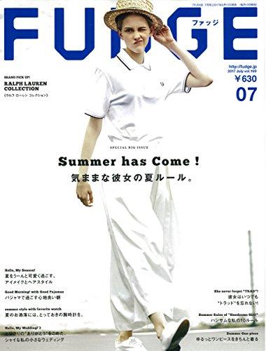 FUDGE -ファッジ- 2017年7月号 Vol.169