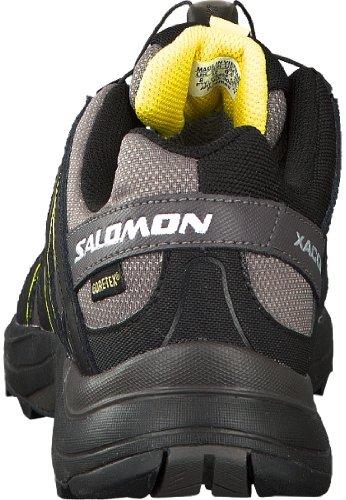 Salomon xa comp 7 gtx gris noir jaune homme chaussure marche trail