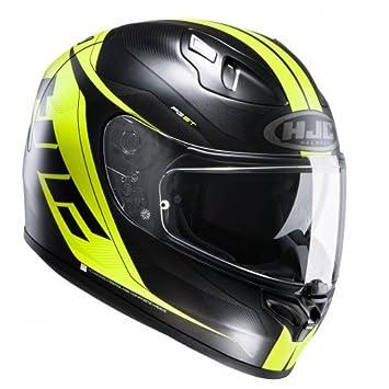 HJC casco Moto FG St Crono mc4hsf, Negro/Amarillo, talla XS