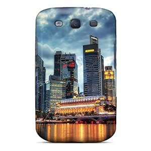 Cute Tpu Whcases Wonderful Cityscape At Dusk Case Cover For Galaxy S3 by icecream design