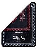 "Rabbit Tanaka Game of Thrones Reversible Fleece Throw Blanket -House Sigil Soft Fleece Throw -GoT Stark and Targaryen 46"" x 60"", Two-Sided Soft Throw Blanket"