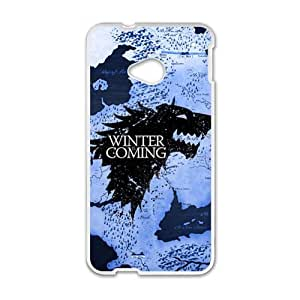 Happy Game of Thrones Brand New And Custom Hard Case Cover Protector For HTC One M7 by icecream design