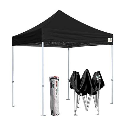 Bon Eurmax Basic 8x8 Pop Up Canopy, Party Instant Tent, Commercial Gazebo Bonus  Roller Bag