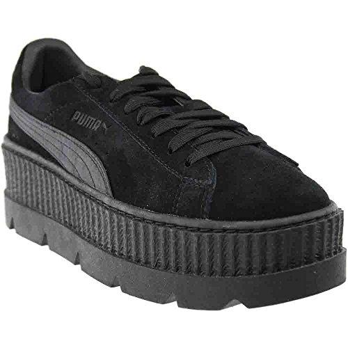Puma x Fenty By Rihanna Women Cleated Creeper Suede black puma black Size 10.0 - Womens 10 Shoes Puma Size