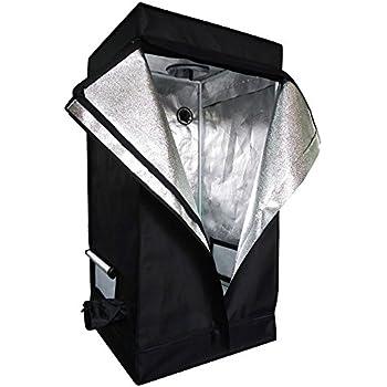 Oshion 2x2x4 Feet Small Indoor Mylar Hydroponics Grow Tent Room (24 x 24   sc 1 st  Amazon.com & Amazon.com : CoolGrows Grow Tent 2x2x4 Feet Mylar Hydroponic Grow ...