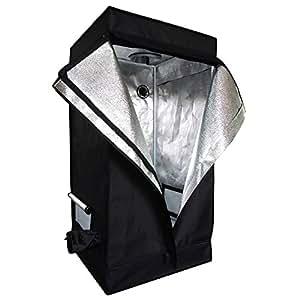 "Oshion 2x2x4 Feet Small Indoor Mylar Hydroponics Grow Tent Room (24""x 24""x 48"")"