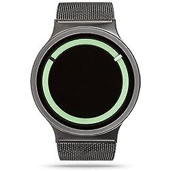 ZIIIRO Eclipse Steel Unisex Watches Gunmetal Mint